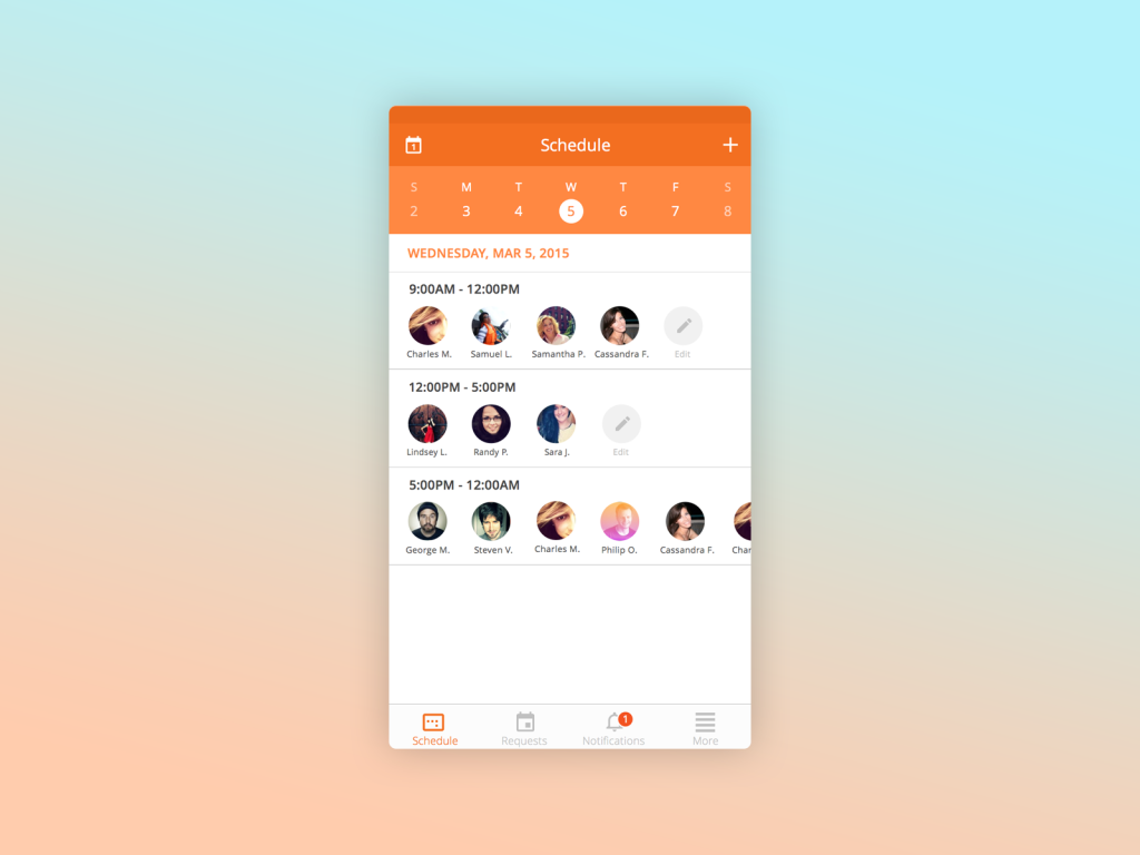 scheduling-worker-ios